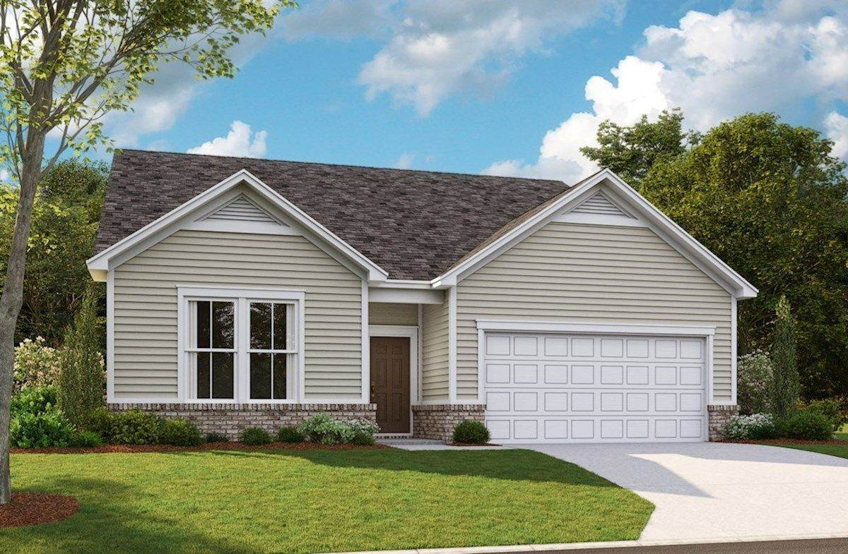 Single Family for Sale at Creekside - Hoover 2332 Shadow Court COLUMBUS, INDIANA 47201 UNITED STATES