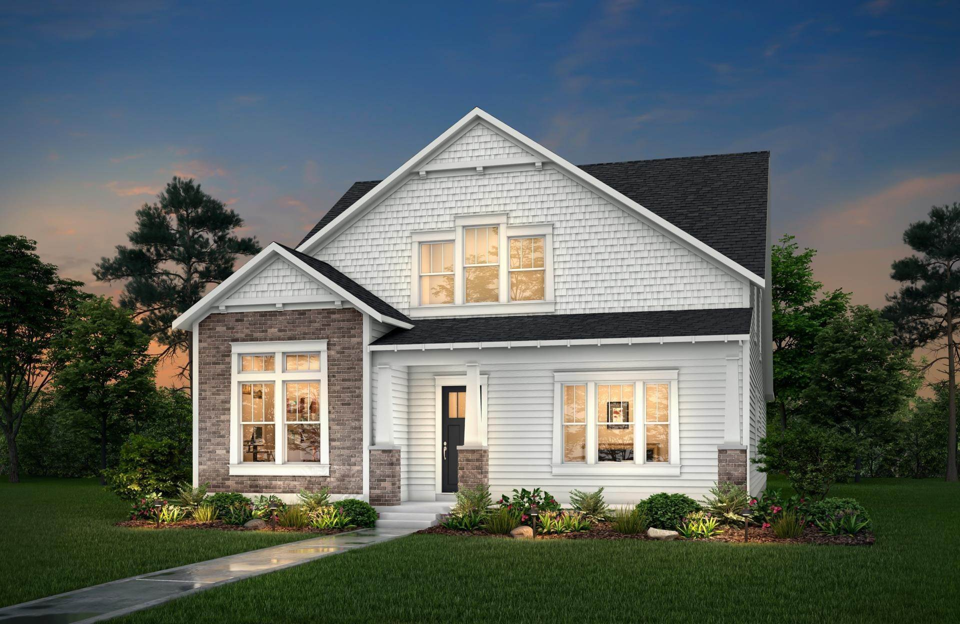 Single Family for Sale at Indy Gallery Platinum - Leland INDIANAPOLIS, INDIANA 46278 UNITED STATES
