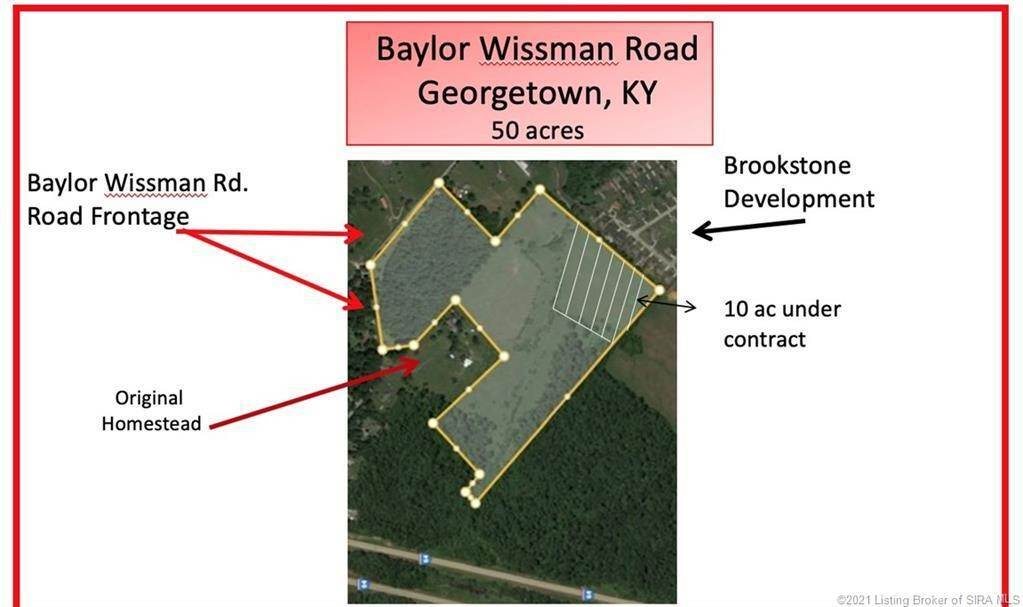 Land for Sale at Baylor Wissman Road Georgetown, Indiana 47122 United States