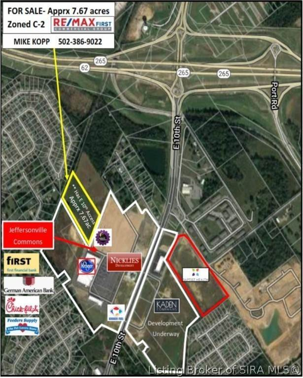 Land for Sale at 3735 E 10th Street Jeffersonville, Indiana 47130 United States