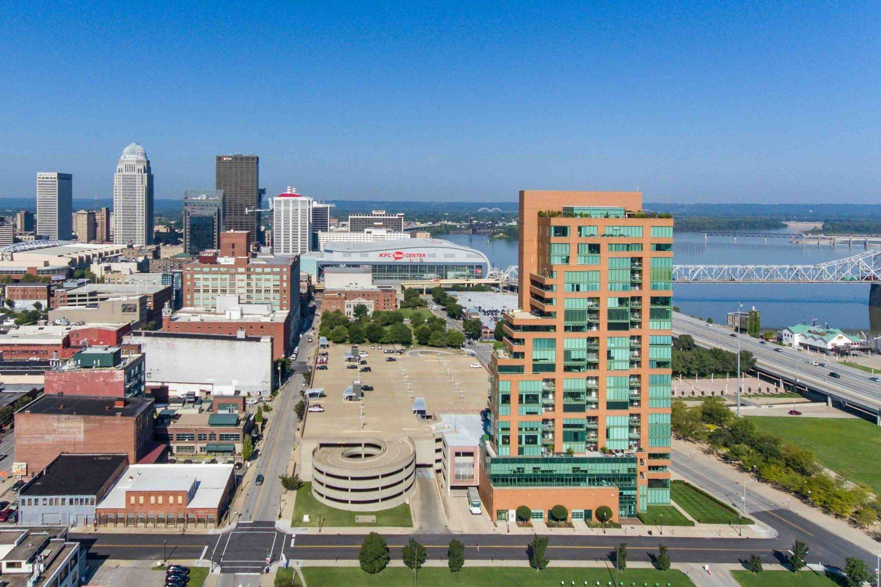 Condominiums for Sale at 222 E Witherspoon Street #801 Louisville, Kentucky 40202 United States